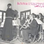 Ministrando curso de Regência em Teresopolis, RJ, 1967