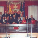 Itália, 2002, com Massolin de Fiori