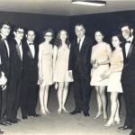 Com Presidente Médici (1972)