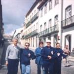 Na Ilha Terceira (Açores, em 2002), com Massolin de Fiori
