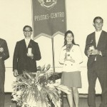 Premiado em Pelotas, com o Coral Cuzeiro do Sul