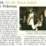 Prêmio em Encantado, 2002