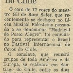 Nota do Correio do Povo, 1977